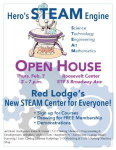 Hero's STEAM Engine Open House @ The Roosevelt Center