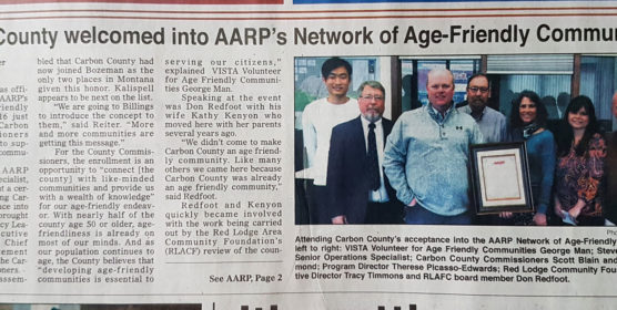 AARP/WHO Network of Age-Friendly Communities